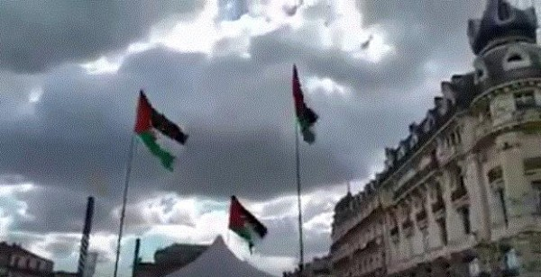 نشاطات الجالية الفلسطينية في فرنسا