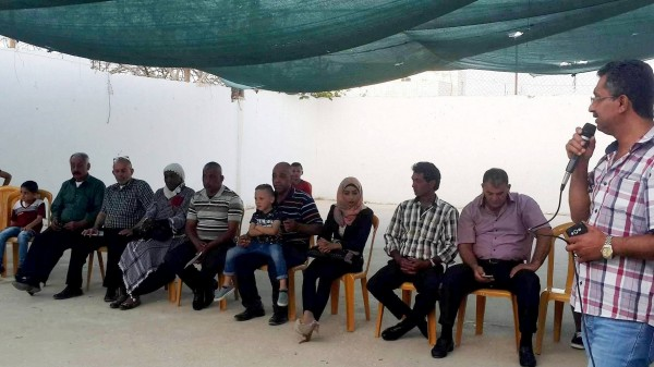 اتحاد الشباب الديمقراطي ينظم وقفة تضامنية مع الأسرى