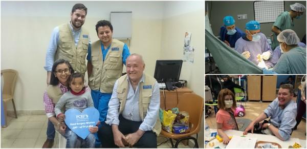 جمعية إغاثة أطفال فلسطين تستضيف وفديين طبيين