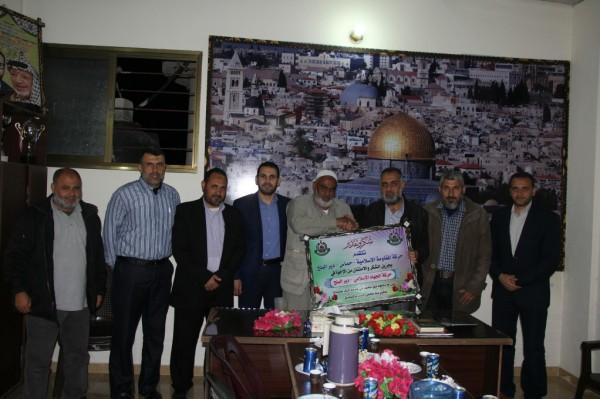 حركة حماس بدير البلح تزور حركتي الجهاد الإسلامي والأحرار