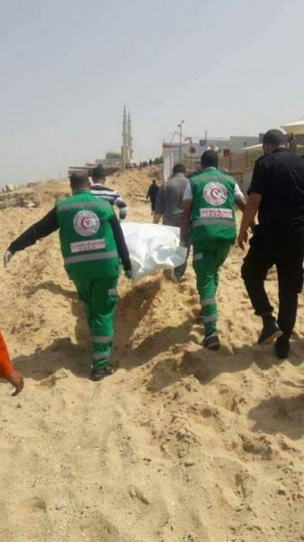 وفاة شاب غرقاً في بحر مدينة غزة