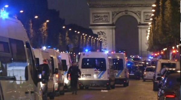 (شاهد) اللحظة الأولى من تنفيذ هجوم باريس