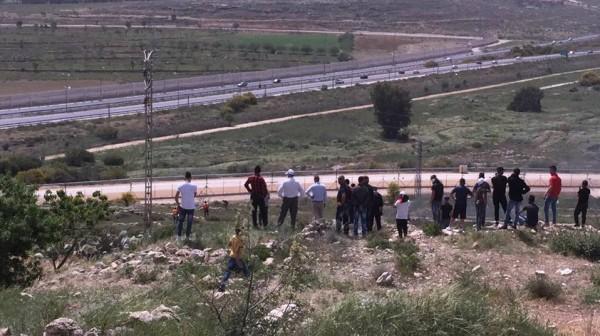 مواجهات بقرية النبي صالح واعتداء على مسيرة قرب معسكر عوفر