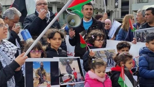أوروبا..تنظم حملة التضامن مع إضرب الأسرى المضربين عن الطعام
