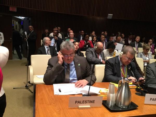 غنيم يمثل فلسطين في اجتماع وزراء المياه الذي تنظمه اليونيسيف