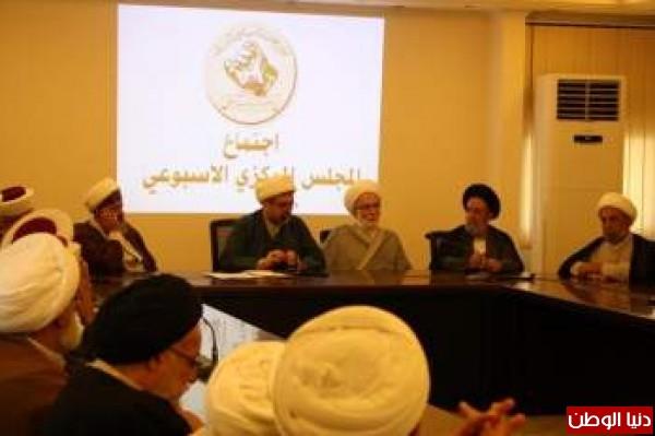 تجمع العلماء المسلمين بصدر بيان شاملا بعد اجتماع مجلسه المركزي