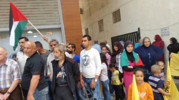 فتح بلبنان تقيم اعتصامًا تضامنيًا مع الأسرى