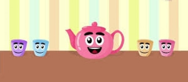 أنا ابريق الشاي