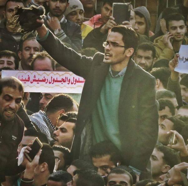 """مجهولون يعتقلون الناشط """"عامر بعلوشة"""" في شمال القطاع"""