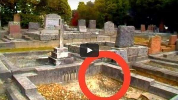 ذهب لزيارة قبر زوجته فحدثت فاجعة وثقها بالفيديو