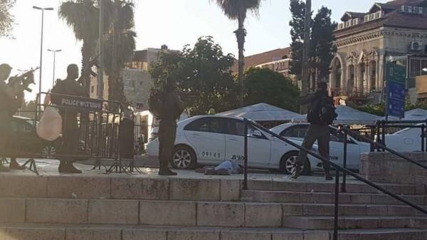 اسشهاد فتاة برصاص الاحتلال بزعم تنفيذها عملية طعن بالقدس (فيديو)