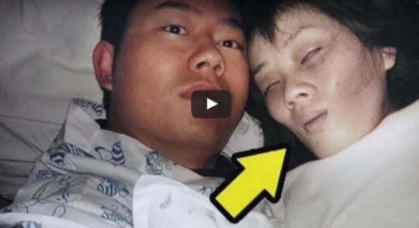 فيديو مروع نبش قبر زوجته ومافعله بها صادم