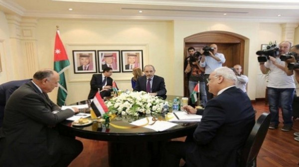 The meeting on Amman: serious efforts to solve The Palestinian Issue by America