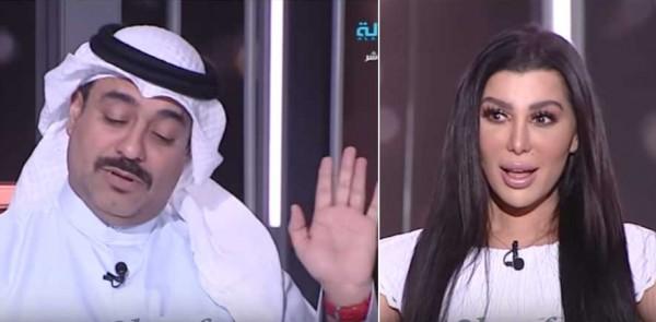 مذيعة كويتية تقلد وفاء الكيلاني وتطلب الزواج من ضيفها والرد قاسي