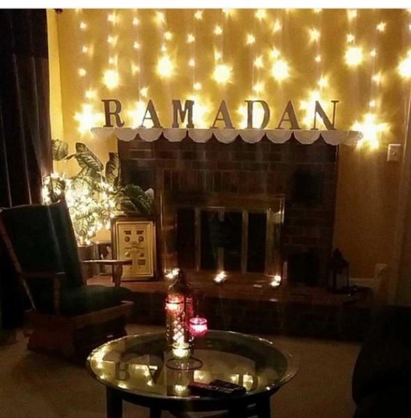 ديكورات بسيطة لاستقبال شهر رمضان