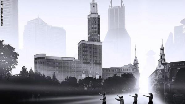 """مدينة """"أشباح"""" تخرج من كتب الخيال وتحط على الأرض"""