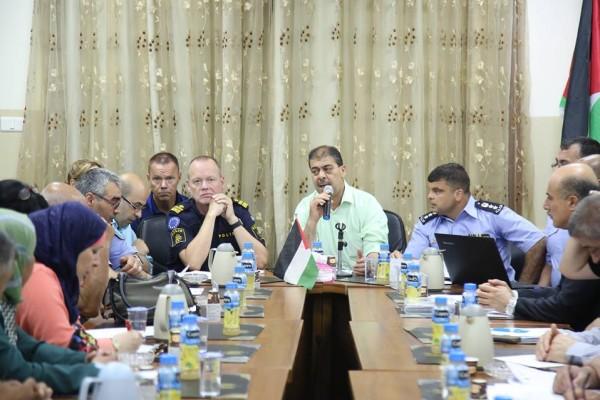 محافظة طولكرم تستضيف ورشة الشراكة مع مؤسسات المجتمع المحلي