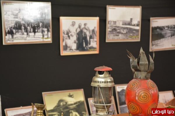 """مركز يافا ومؤسسات بلاطة يختتمون المعرض الفني """"ذاكرة يافا""""بذكرى النكبة"""
