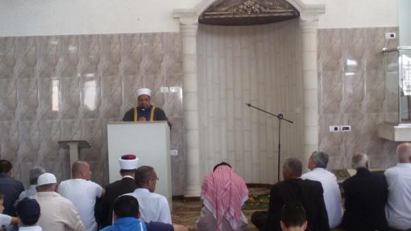 الوزير ادعيس يفتتح مسجد أم سلمة في طولكرم