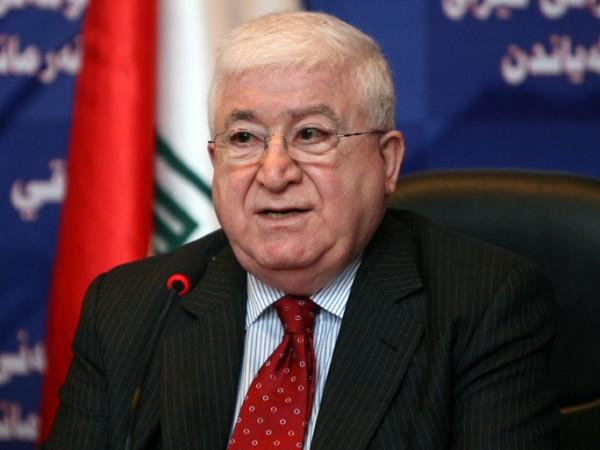 الرئيس العراقي: تنظيم الدولة وحد العراقيين بكافة أطيافهم