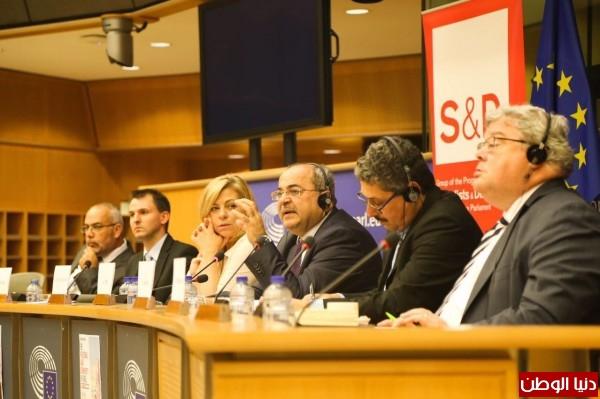 البرلمان الاوروبي يستجيب لطلب بالمساواة التامة للمواطنين الفلسطينيين في اسرائيل