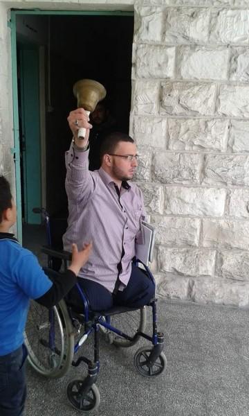 أحمد السوافيري.. جريحٌ لم تأسر الإعاقة إرادته