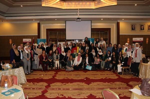 """انتخاب""""بثينة دقماق"""" عن فلسطين نائباً لرئيس الشبكة القانونية للنساء العربيات"""