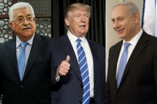 The resumption of negotiations between the Palestinians and occupation. A tripartite summit with Abbas Trump Netanyahu