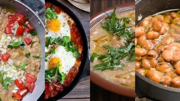 ١٠ وصفات شهية ومختلفة لطبق الفول على السحور