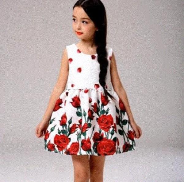 adac7d311f350 بالفيديو  أجمل ملابس اطفال بناتي صيف 2017