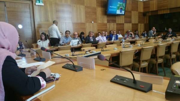 ندوة بمجلس حقوق الإنسان في جنيف بعنوان اعتقال أطفال فلسطين