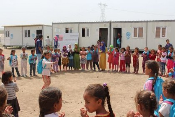 IOM Provides Psychosocial Support for Children from Mosul
