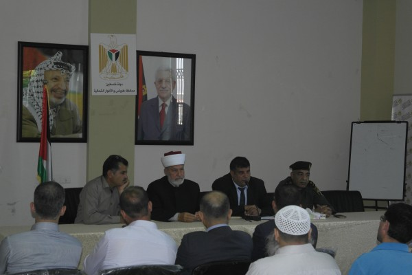 طوباس: لقاء رمضاني مفتوح بحضور مفتي قوى الامن