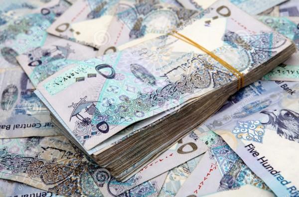 الريال القطري يضعف عن سعر الربط الدولار