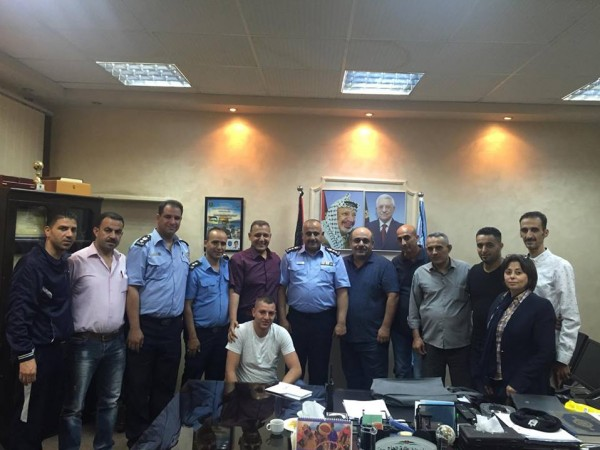 إفطار رمضاني للأيتام وذويهم في شرطة محافظة نابلس