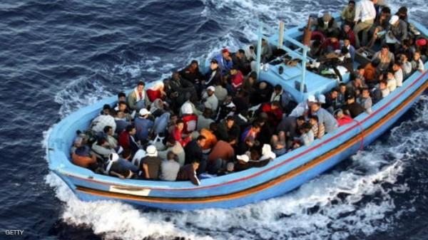 أنباء تتحدث عن غرق نحو 130 مهاجرا في المتوسط
