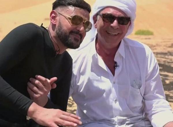 هذا السبب الحقيقي لخلع محمود حميدة بنطلونه مع رامز جلال