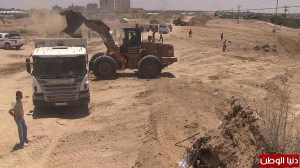"""بالفيديو:إنشاء منطقة عازلة """"أبو نعيم"""":تأتي ضمن تفاهمات القاهرة ولزيادة ضبط الحدود مع مصر"""