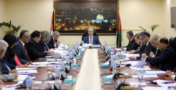 الحكومة تصادق على تشكيل الفريق الوطني لترسيم حدود فلسطين البحرية