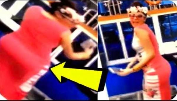 رد عنيف من مريم حسين على فيديو تكبير مؤخرتها
