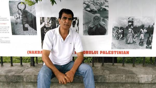 جمعية التضامن الرومانية تنصب خيمة تضامنيه مع نضال الشعب الفلسطيني