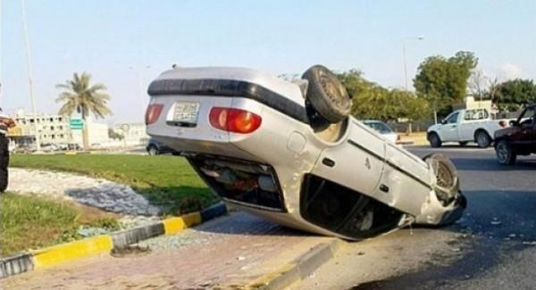 وفاة مواطن (47 عاماً) جراء انقلاب سيارته وسط قطاع غزة