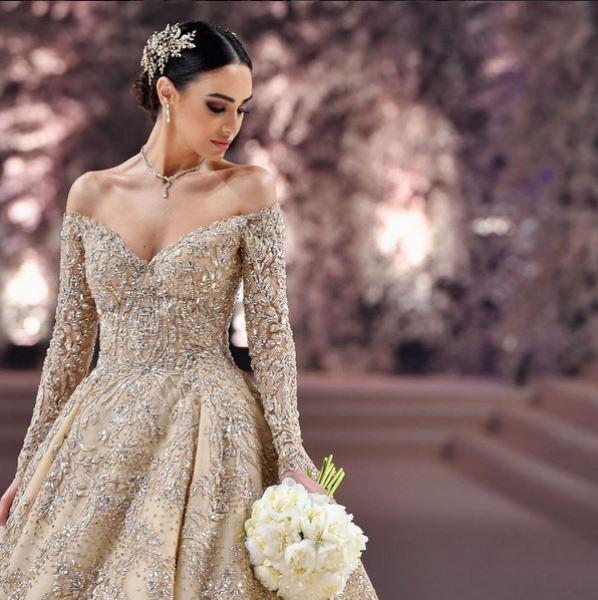 46ebb2268fdfb فساتين زفاف 2017 أفخمها من تصميم زهير مراد