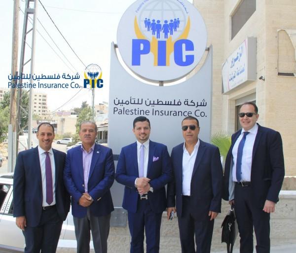 شركة فلسطين للتأمين تستضيف خبير التجميل العالمي مجد ناجي