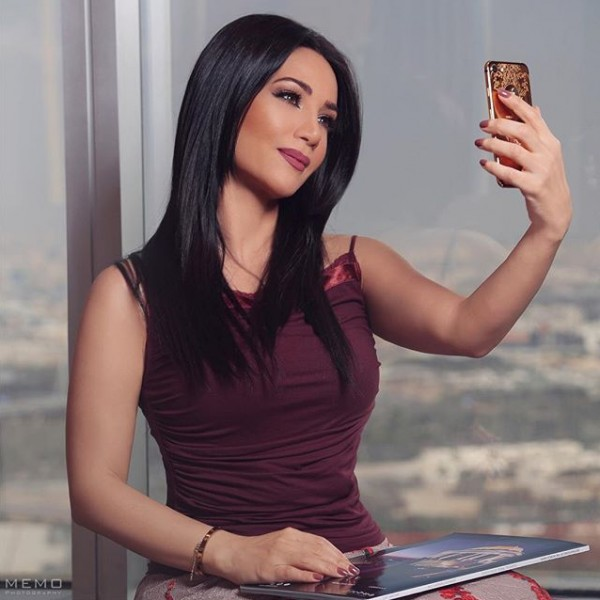 صوفي ابنة ديانا حداد الحسناء الإماراتية