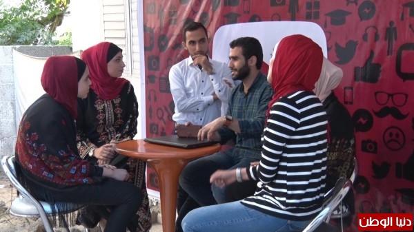 بالفيديو يوتيوبرز غزة نافذة غزة على العالم الخارجي عبر موقع