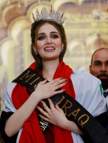 تجريد ملكة جمال العراق من لقبها بسبب سر أخفته عمداً