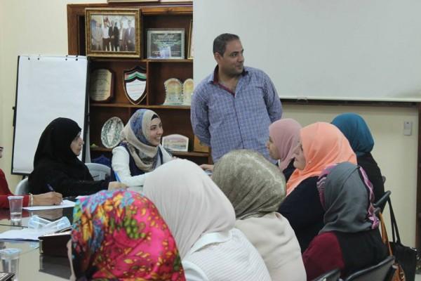 ورشة تدريبية حول تفعيل أدوار عضوات المجالس المحلية بالعمل المجتمعي