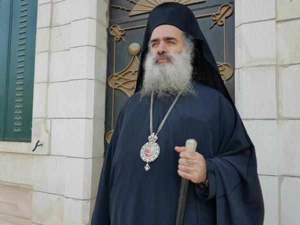 عطا الله حنا يستقبل وفدا من الكنيسة الارثوذكسية الانطاكية بالبرازيل