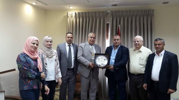جامعة خضوري تلتقي مستشار رئيس الوزراء للصناديق العربية والاسلامية